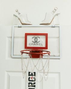 """""""My favorite piece are those CHANEL perspex shoes. I saw them last year in the CHANEL store on this rotating plate thing. I've never worn them, but I love them. It was like an art piece, you know? Chanel Store, Boujee Aesthetic, Create A Logo, Custom Homes, Tattoos For Women, House Plans, Art Pieces, Gallery Wall, Product Launch"""