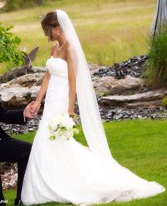 Chapel Wedding veilLong  bridal Veilcathedral veil by BridalStar, $49.00