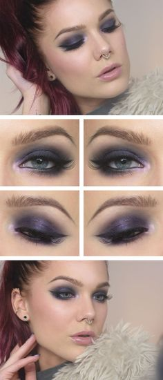 Jag har använt/I've used NYX HD eyeshadow base Too faced cat eyes palette MUS eye pencil black NYX more...
