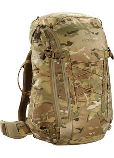 Khard 45 Pack MultiCam A 45 litre, fully padded, single compartment bag.