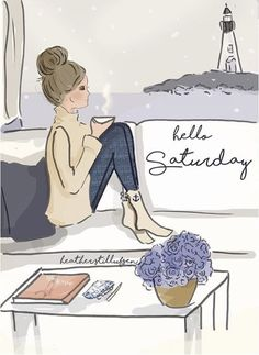 Wall Art for Women - Live a Life You Love - Hello Weekend - Wall Art Print - Digital Art Print - Wall Art - Print - illustrations Hello Saturday, Hello Weekend, Hello Friday, Happy Weekend, Happy Sunday, Positive Quotes, Motivational Quotes, Inspirational Quotes, Positive Affirmations