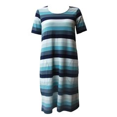 Marimekko Onnela Dress in Blue
