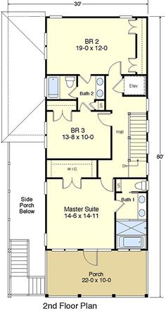 Coastal home plans chandler 39 s cottage house plans for Coastal house plans with elevators