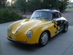 1958 Porsche 356 356A Sunroof Coupe