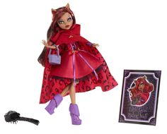 Monster High Scarily Ever After Doll Little Dead Riding Wolf Clawdeen Wolf #MonsterHigh