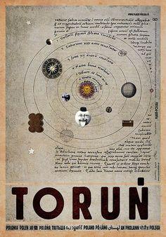Torun, Polish Poster, Ryszard Kaja