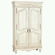 white provencal closet