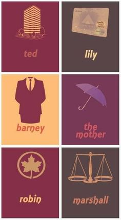 How I Met Your Mother. But it should be a yellow umbrella for the mother, though. How I Met Your Mother, I Meet You, Told You So, Barney And Robin, Free Poster Printables, Ted Mosby, Movies And Series, Art Series, Yellow Umbrella