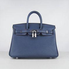 Hermes bags and Hermes handbags Birkin Dark Blue (silver) 282 4c41bb1cddf8e