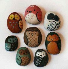 Manualidades con piedras 10