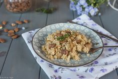 Risotto, Celerie Rave, Cauliflower, Cereal, Vegetables, Breakfast, Ethnic Recipes, Food, Almonds