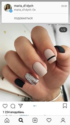 142 top class bridal nail art design for spring inspiration page 19 nail designs for short nails short nail designs 2019 kiss nail stickers nail art stickers walmart best nail stickers 2019 Cute Acrylic Nails, Matte Nails, My Nails, Stylish Nails, Trendy Nails, Short Square Nails, Bridal Nail Art, Nagel Hacks, Nail Polish