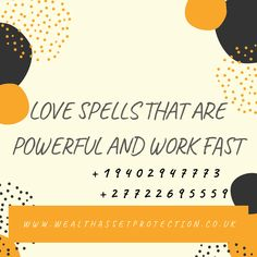 Powerful wealth protection spells and asset protection spells that work effectively. Powerful protection spells help to protect you, your family, business, etc Attraction Spells, Powerful Love Spells, Protection Spells, Special Person, Self Confidence, Curb Appeal, Feel Better, Spelling, Wealth