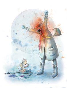 Lisa Aisato Art And Illustration, Science Fiction, Art For Kids, Brave, Fantasy Art, Illustrator, Horror, Lisa, Funny Pictures