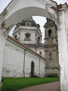 Pazaislis Monastery. Kaunas, Lithuania