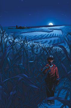 SUPERMAN: AMERICAN ALIEN #1 Variant cover by NICK DRAGOTTA