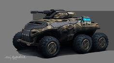 Concept cars and trucks: Concept military vehicles by Sergey Kondratovich
