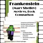 The difference and similarities of the movie and book version of frankenstein