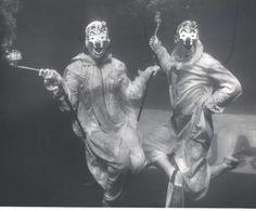 Underwater clowns