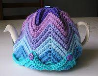 Justjen-knits: Justjen's Easy Ripple Tea Cosy with pattern