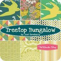 Treetop Bungalow Fat Quarter Bundle Joel Dewberry for Free Spirit Fabrics