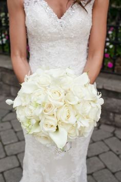 Romantically Elegant New Jersey Wedding - MODwedding