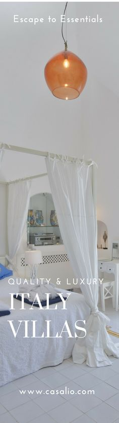 The Best Italian Villas for Families, Small Groups, Corporate Events. www.casalio.com