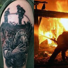 Explore memorial tributes to brave fireman in the line of duty. Discover the top 50 best firefighter tattoos for men featuring flames and honorable rescues. Fireman Tattoo, Firefighter Tattoos, Brother Tattoos, Tattoos For Guys, Arm Tattoo, Hand Tattoos, Samoan Tattoo, Polynesian Tattoos, Tattoo Ink
