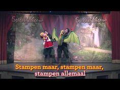 Stampen, stampen, stampen - Dans mee met Assepoester
