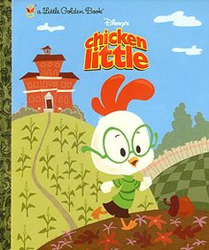 chicken little...Little Golden Book