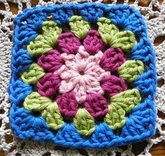 Little bit different than a granny square