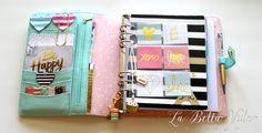 2015 Planner Setup Dividers La Bella Vida Design Mint Kikki K