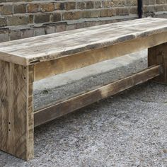 wooden bench (A 6 BOARD BENCH.DB.)