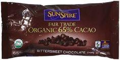 SunSpire Organic 65% Cacao Baking Chips - 9 oz