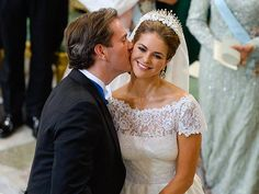 Princess Madeleine of Sweden Marries American Banker Christopher O'Neill