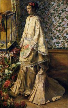 Pierre-Auguste Renoir - Rapha Maitre, 1871