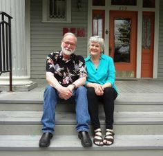 Dennis Olsen and Meredith Dean, both recently retired from the UTSA art faculty, are showing recent work at REM Gallery. Photo: Steve Bennett / San Antonio Express-News