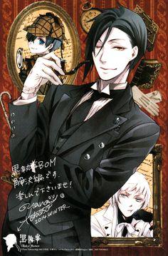 """ Kuroshitsuji Book of Murder Art by Yana Toboso "" "" """