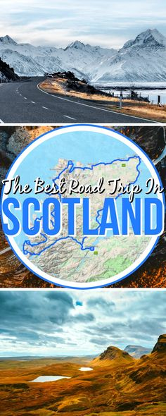 """The best Scotland road trip known to us. This Scottish road trip called """"North Coast 500"""" has it all: brilliant views, mountains, lakes, the sea, and passes along picturesque Scottish villages totally worth exploring! We hope you enjoy your Scottish trip! #RoadTrip #ScotlandRoadTrip #ScottishRoadTrip #UKRoadTrip #NorthCoast #NorthCoast500"""