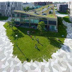 Park Design for a High Density Housing Area park design housing area4: