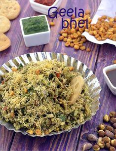 Geela Bhel ( Mumbai Roadside Recipes )