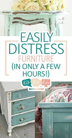 Easily Distress Furniture (In Only A Few Hours!)