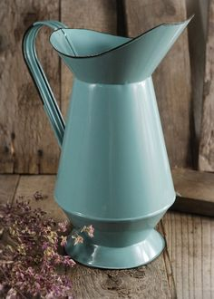 29.00 SALE PRICE! Inspired by French flea market finds, the Normandy Farm House Pitcher makes a wonderful addition to any table setting. Add dried flowers to...