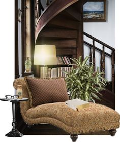 """Reading nook #3"" by misslisa5472 on Polyvore"