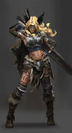 Character Design_Valkyrie by luulala on DeviantArt