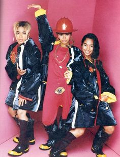 "TLC - dressed as fire women. Shortly after LISA burned down the Atlanta estate of Andre Risen. Went to rehab for alcohol abuse/entered a diversion program in ATL yet prior to the trio's sophomore album release date for CRAZY SEXY COOL & subsequent bankruptcy filing for chapter seven and an ""unrelated"" burglary of their GRAMMY AWARDS & TLC property at LaFace Records (their label) by two female members of the diversion program LISA attended by court order."