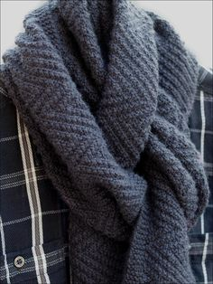 Crochet Patterns Men Ravelry: Lamberhurst Scarf pattern by Wyndlestraw Designs Mens Scarf Knitting Pattern, Mens Knitted Scarf, Love Knitting, Knitting Patterns Free, Knit Patterns, Wool Scarf, Man Scarf Knit, Finger Knitting, Knitting Tutorials