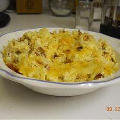 Cheesy Amish Breakfast Casserole Allrecipes.com