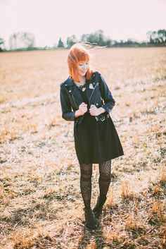 I usually avoid wearing a lot of black. Pair pale skin with a black dress and the Casper jokes pretty much write themselves. However if th...