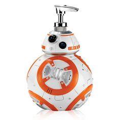 Star Wars™ BB-8™ Dispenser - A liquid soap dispenser shaped after BB-8 from Star Wars, buy Avon Living products online at barbieb.avonrepresentative.com.